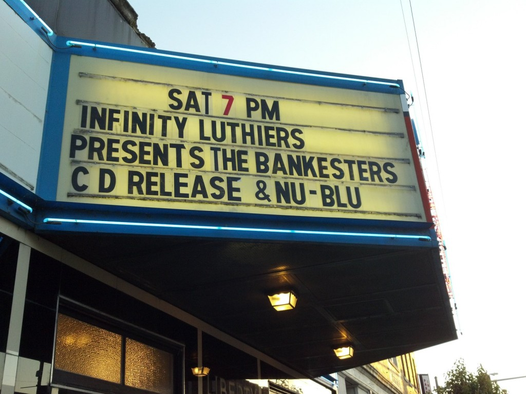 Infinity Luthiers presents The Bankesters cd release party with special guests Nu-Blu.